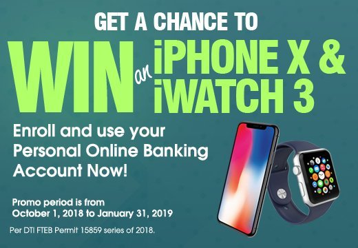 Get a chance to win banner