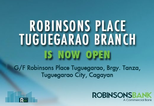 Tuguegarao Branch is now open