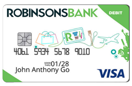 Rbank visa debit card